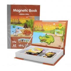Магнетна книга со животни