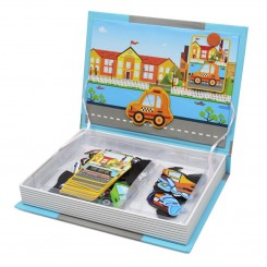 Магнетна книга со сообраќајни возила