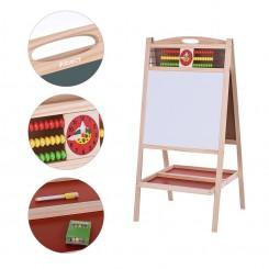 Дрвена магнетна табла за цртање