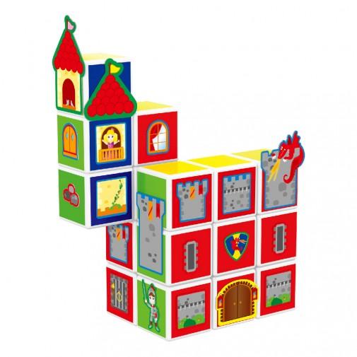 Магнетни коцки - Замок