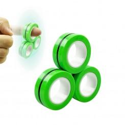Антистрeс играчка - Магнетни прстени