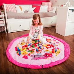 Подлога за играње и торба за играчки