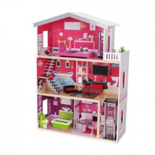 Moni - Дрвена куќичка за кукли