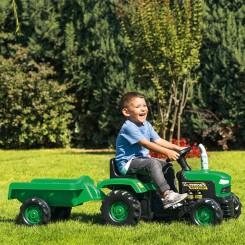 Dolu - Трактор на педали со приколка