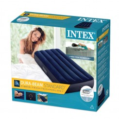 Intex  душек 76х191х25см