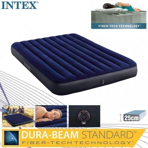 Intex душек 152x203x25