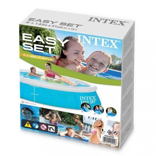 Intex easy set базен 183х51см
