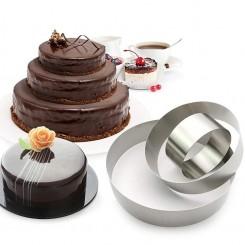 Сет од 3 калапи за торти и колачи