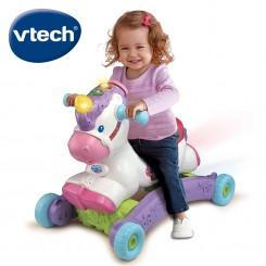Vtech - Еднорог 2 во 1 клацкалка и туркало